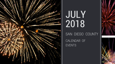 July 2018 – San Diego Events