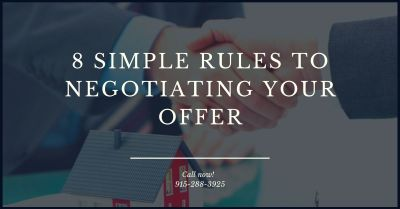 Simple Rules For Negotiating and Getting That House