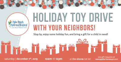 2019 Holiday Toy Drive