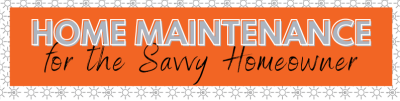 RE TIP FROM A PRO: HOME MAINTENANCE FOR THE SAVVY HOMEOWNER