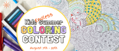 Endless Summer – Coloring Contest