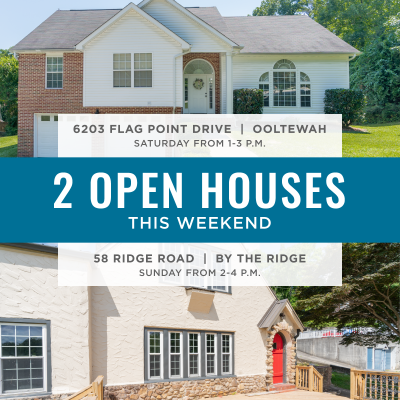 2 Open Houses This Weekend + Another New Listing! June 26-27, 2021