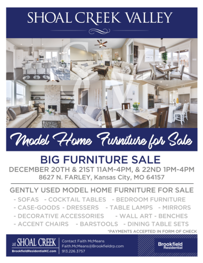 Model Home Furniture Sale