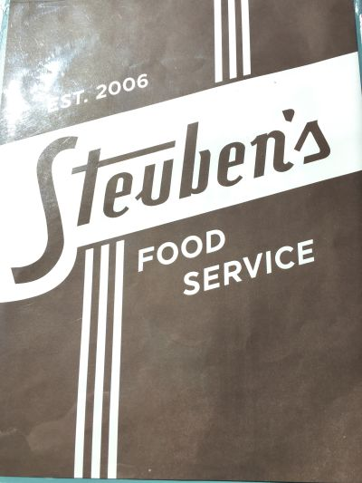 Today we ate at Steuben's