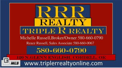 Triple R Realty, Michelle Russell, Broker/Owner