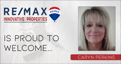 Caryn Perkins Joins RE/MAX Innovative Properties