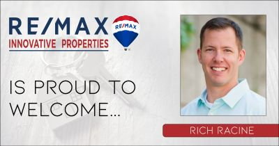 Rich Racine Joins RE/MAX Innovative Properties