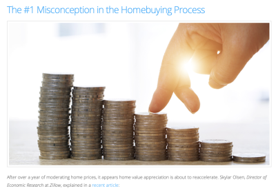 The #1 Misconception in the Home-Buying Process!