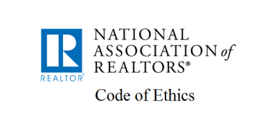 National Association of Realtors – Code of Ethics