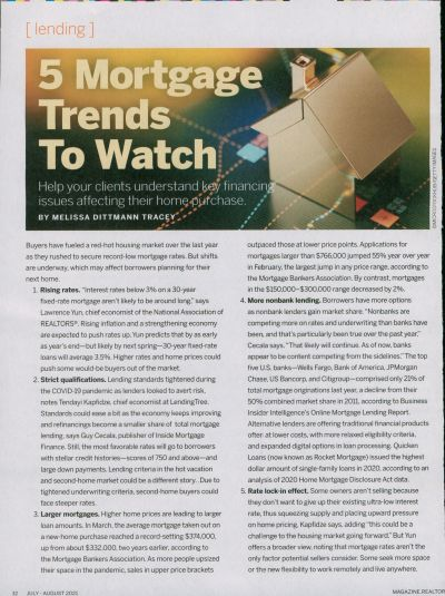 5 Mortgage Trends To Watch