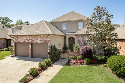 Rare opportunity to live in this gated community known as Parlange in Baton Rouge!