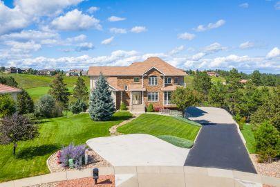 Custom Built Home in Red Rock Estates