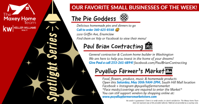 Small Business Spotlight Wednesday 5-27-2020