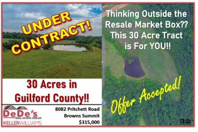 This Wonderful 30 Acre Tract of Land is now UNDER CONTRACT!!!