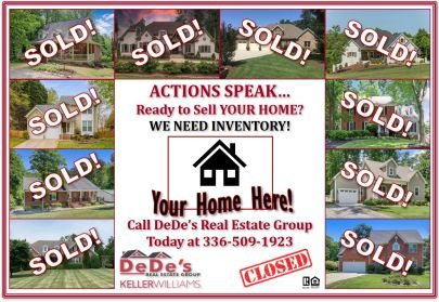 WE NEED INVENTORY! Considering Selling Your House?? Call Today