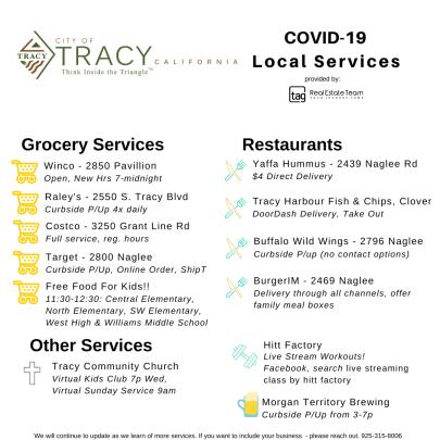 Tracy, CA CoronaVirus Quarantine Guide