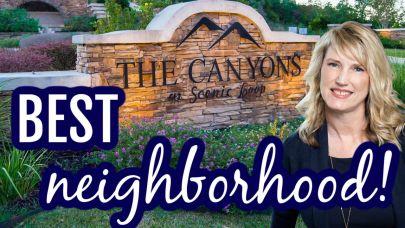 Best neighborhood in San Antonio (The Canyons at Scenic Loop)