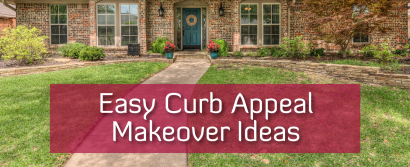 Okay, let's talk CURB APPEAL!