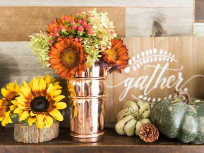 C'mon Get Cozy: Decorating for the Fall