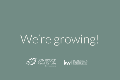 We're growing!
