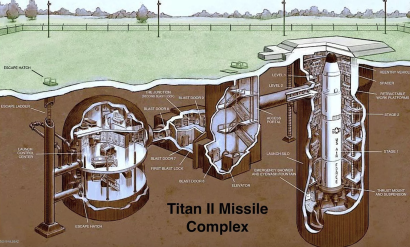 Listed on Zillow, this nuclear missile complex could be all yours