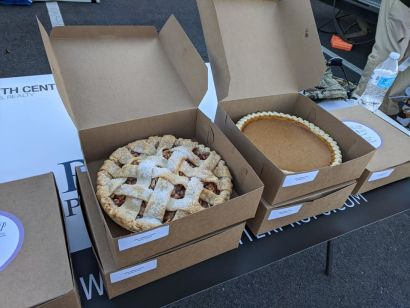 """Pelletier Properties says Thank You to our Clients with 3rd Annual """"Thanksgiving Pie Day"""""""