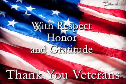 Pelletier Properties says THANK YOU on Veterans Day