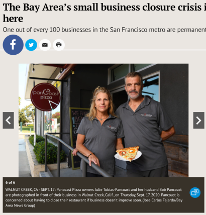 Small Business Closures and Home Foreclosures