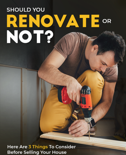 Should you renovate home before selling?