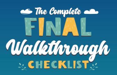 Final Walkthrough Checklist for your Silicon Valley Home