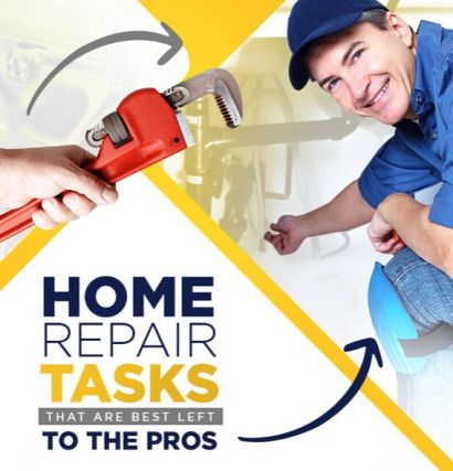 Leave these home repairs to the pros