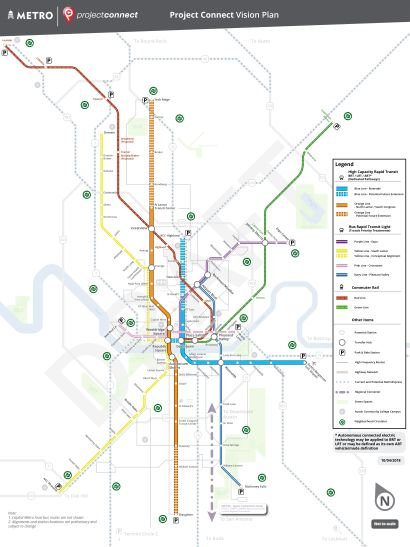 Project Connect proposes $312.2M budget for upcoming year focusing on development of Orange and Blue lines