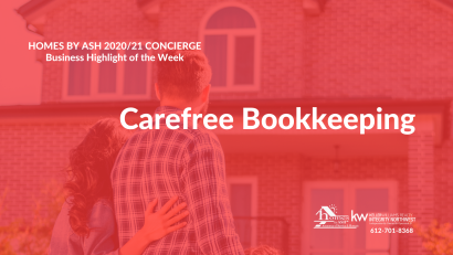 Concierge Business Highlight of the Week – Carefree Bookkeeping