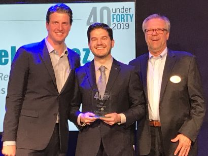 Tim Velasquez Realtor Receives Conejo Valley 40 Under 40 Award