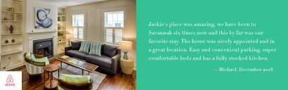 Savannah, GA – Airbnb