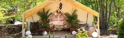 Five Best Spots for Glamping