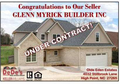 UNDER CONTRACT!