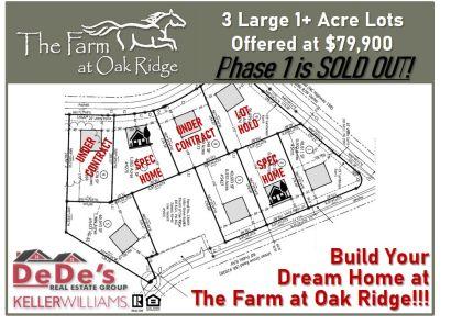 Checkout the latest Availability at The Farm at Oak Ridge!