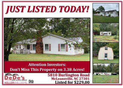 Just Listed Today!!