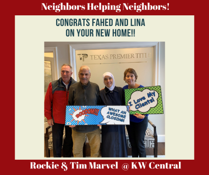 Neighbors Helping Neighbors: Happy Home Owners – Fahed and Lina