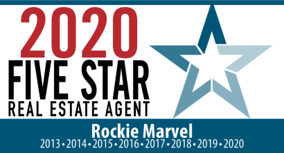 2020 Dallas Five Star Real Estate Agent Rockie Marvel