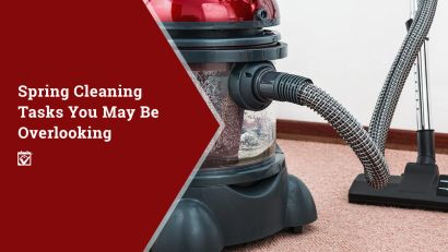 Spring Cleaning Tasks You May Be Overlooking