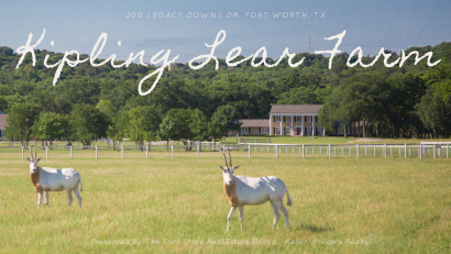 The Luxurious Equestrian Estate of Kipling Lear Farm – Fort Worth, TX