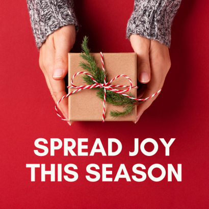 Spread Holiday Cheer with Us this Season