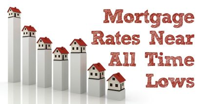 Mortgage Rates Fall to a New Near Record Low