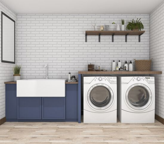 Budget Friendly Laundry Room Updates