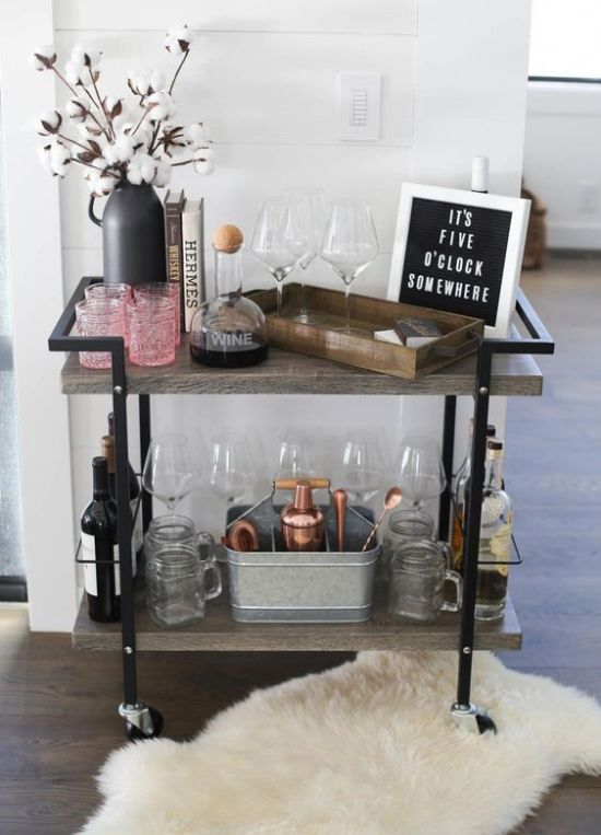 It's a Good Time to Create an In-Home Bar