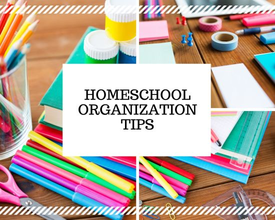 Homeschool Organization Tips with Organized Choas