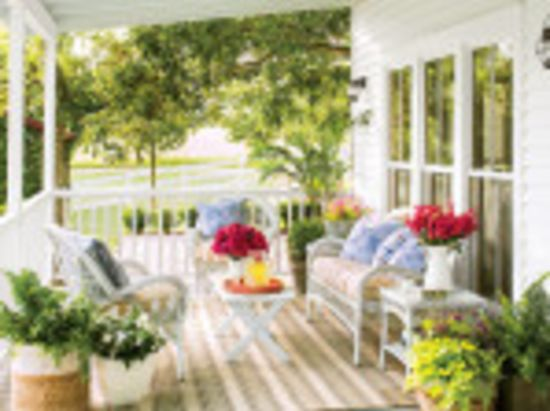 How To Spruce Up Your Porch for Spring
