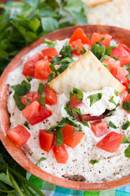 Whipped Feta & Garlic Dip Recipe